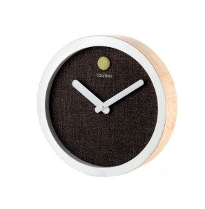 Minimalistické hodiny - Antracite č.1