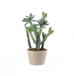 Dekorační kaktus v přírodním květináči č.1