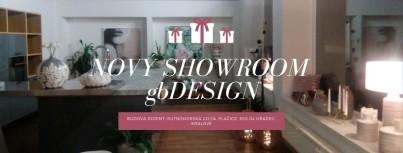 Nový showroom gbDESIGN - v Hradci Králové