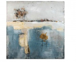 Abstraktní obraz Ilha