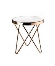 Kulatý odkládací stolek Goldessa