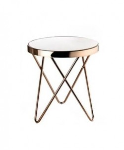 Kulatý odkládací stolek Goldessa č.1