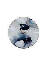 Nástěnné hodiny Inked Blue