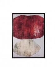 Abstraktní obraz Ruby